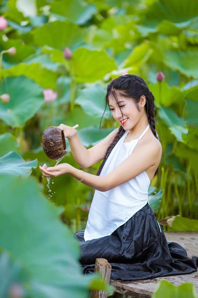 Nữ sinh Học viện Tài chính năng động, làm hoa khôi năm cấp 3 - Ảnh 10.