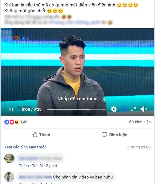 Không đá Asian Cup, Đình Trọng vẫn ghi điểm với fan nữ khi bình luận bóng đá - Ảnh 2.