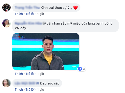 Không đá Asian Cup, Đình Trọng vẫn ghi điểm với fan nữ khi bình luận bóng đá - Ảnh 3.