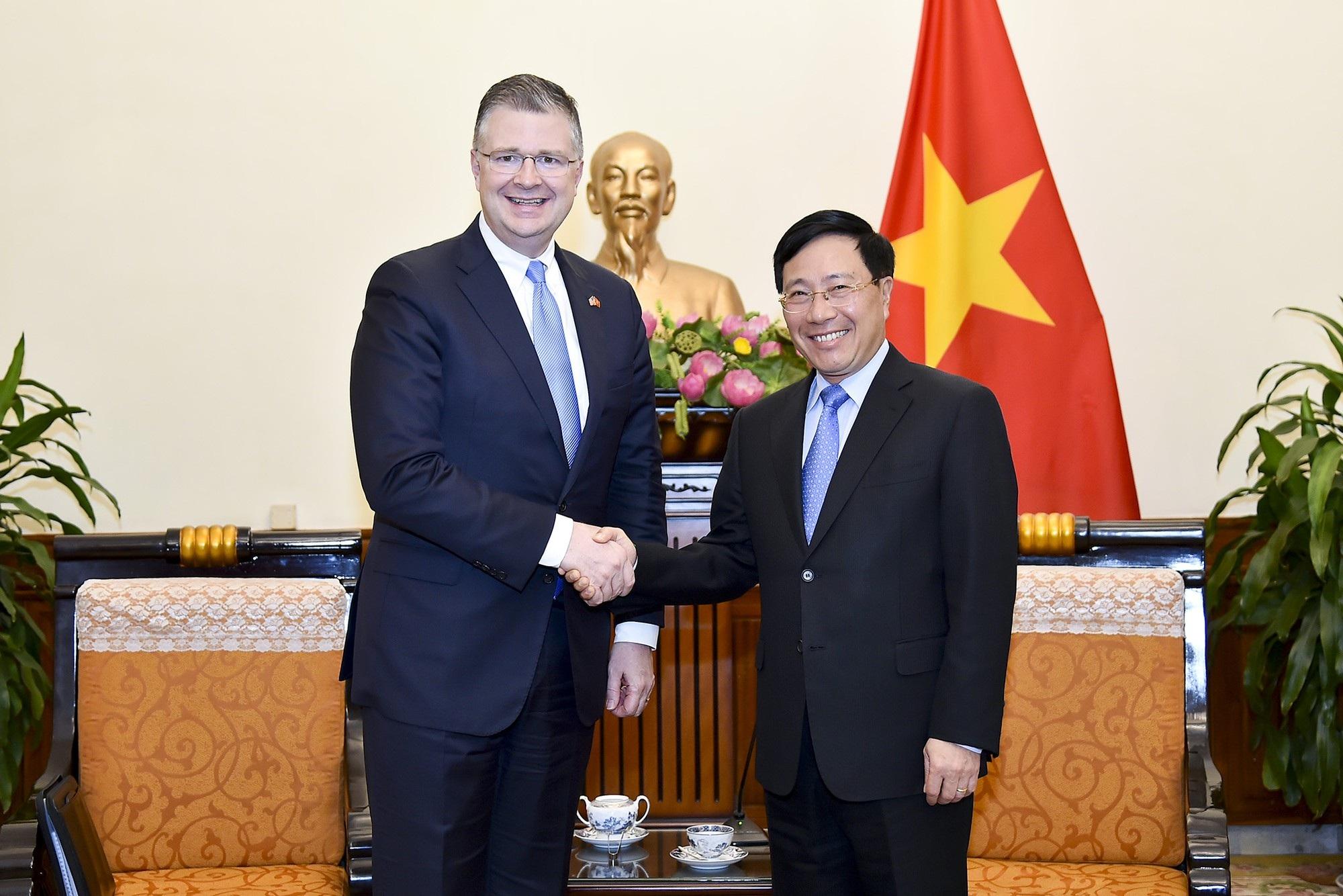 Hoa Kỳ coi Việt Nam là đối tác quan trọng hàng đầu ở khu vực - Ảnh 1.
