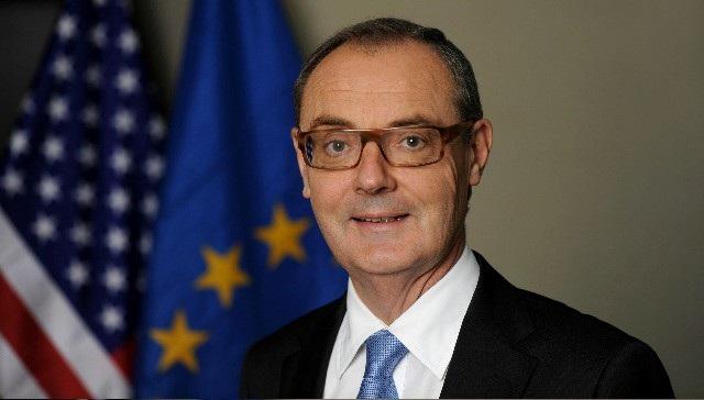"""EU """"sốc"""" vì Đại sứ bị Washington âm thầm hạ cấp ngoại giao - Ảnh 1."""