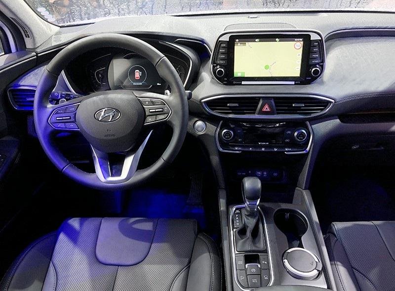 Hyundai Santa Fe 2019 chính thức ra mắt, giá từ 995 triệu đồng - Ảnh 6.