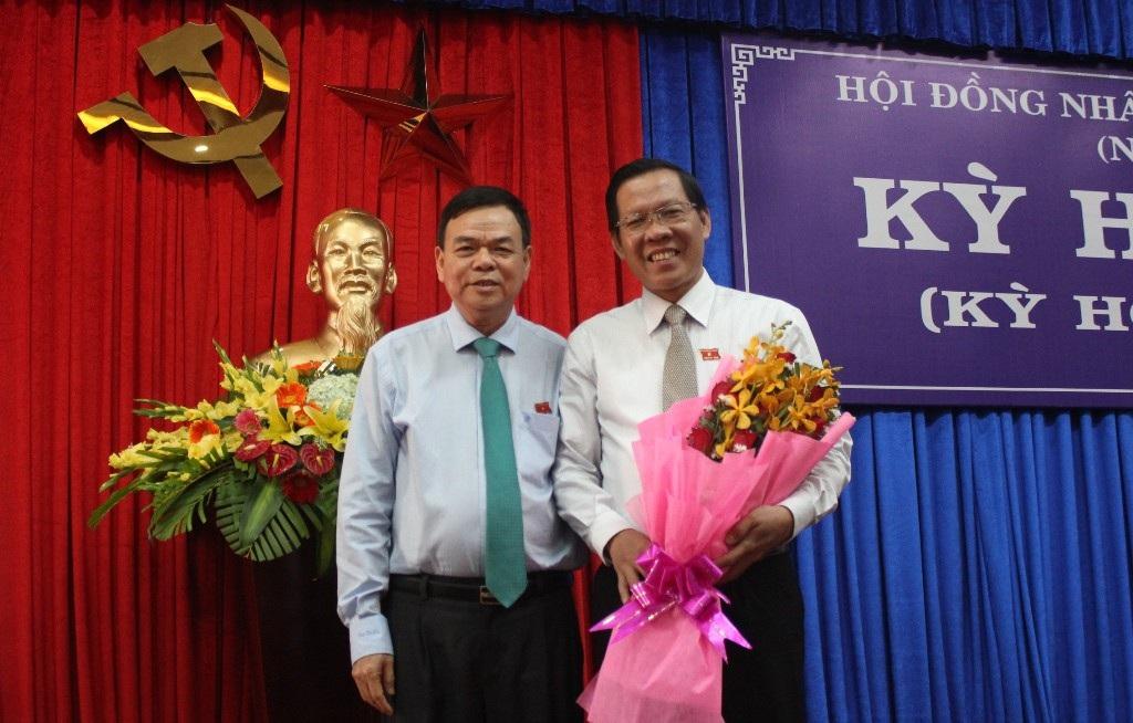 Ông Phan Văn Mãi được bầu làm Chủ tịch HĐND tỉnh Bến Tre - Ảnh 1.