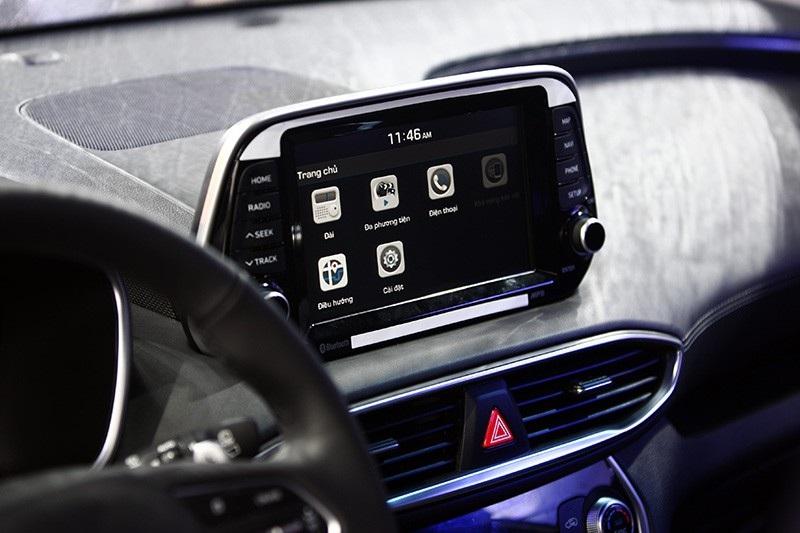 Hyundai Santa Fe 2019 chính thức ra mắt, giá từ 995 triệu đồng - Ảnh 17.