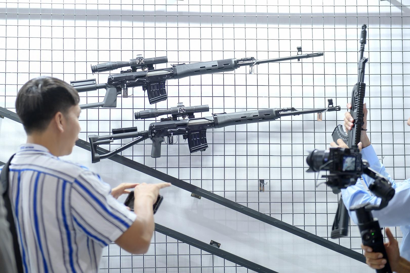 Ngắm những vũ khí tối tân tại Triển lãm Quốc phòng và An ninh Việt Nam 2019 - 8