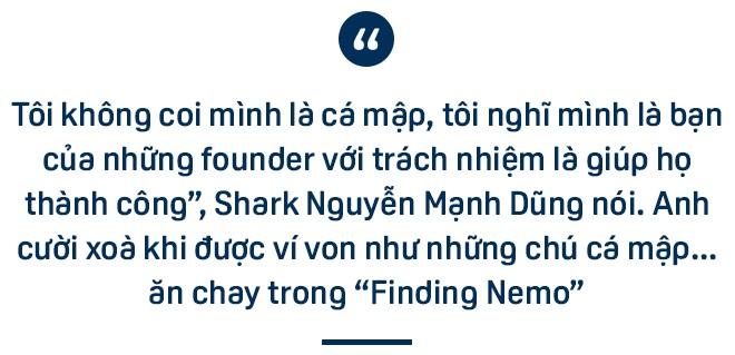 Shark Dũng: Mình có thể là con cá mập bị cá mập khác cắn, điều đấy không quan trọng! - 1