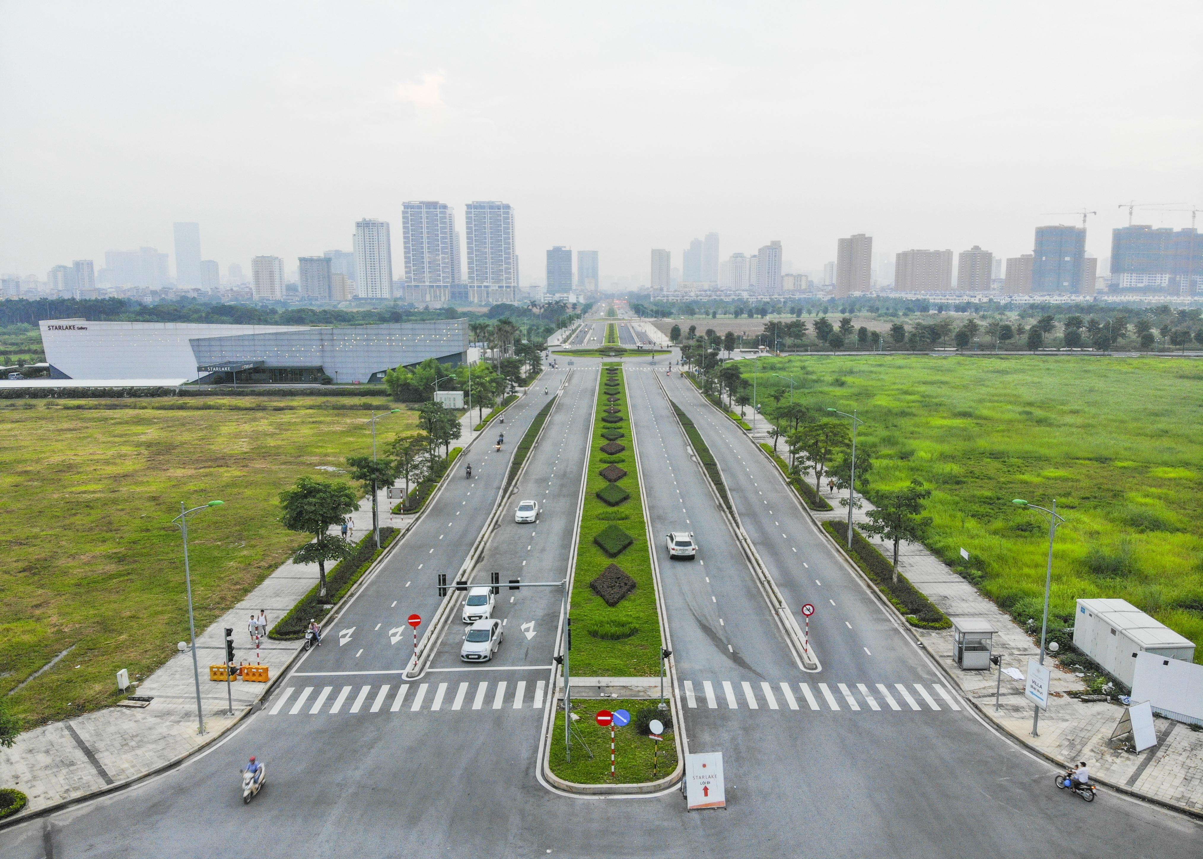 Toàn cảnh tuyến đường 8 làn kết nối 3 quận ở Hà Nội - 6