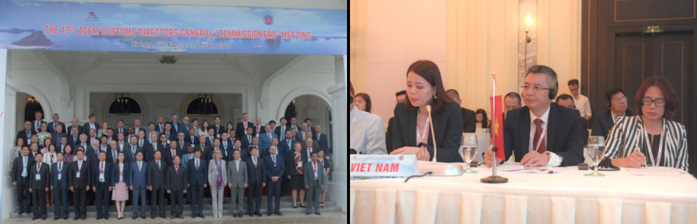 Hải quan Việt Nam đăng cai tổ chức Hội nghị Tổng cục trưởng Hải quan Diễn đàn Hợp tác Á - Âu (ASEM) lần thứ 13 - 1