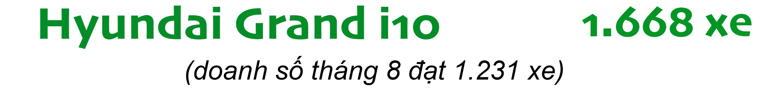 VinFast Fadil vẫn là ẩn số, Hyundai Grand i10 giữ vững ngôi đầu - 3