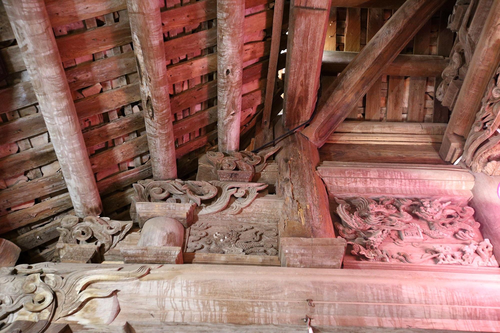 Chiêm ngưỡng ngôi đình hơn 300 năm tuổi đẹp nhất xứ Đoài - 10