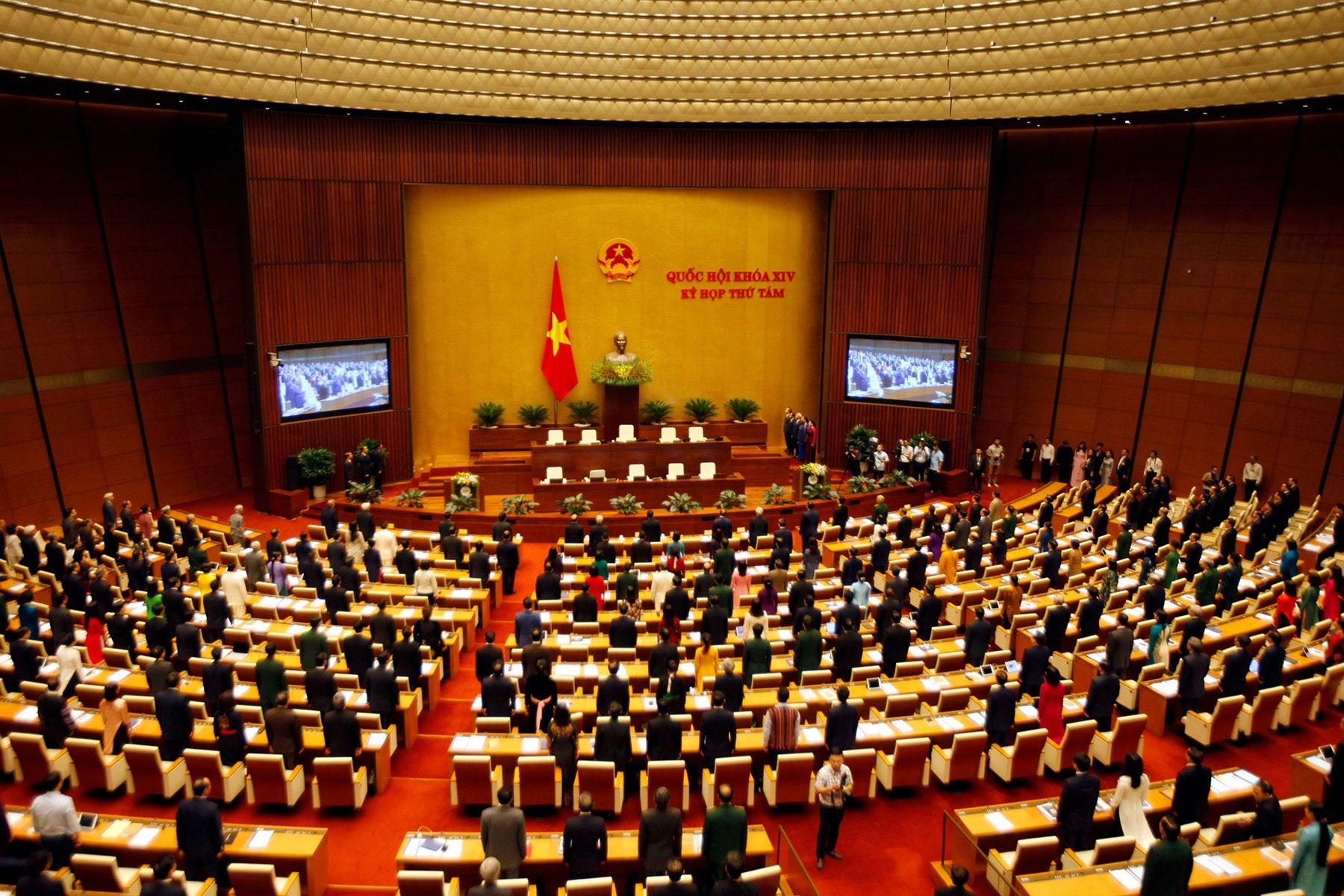 Kỳ họp thứ 8 Quốc hội khoá XIV