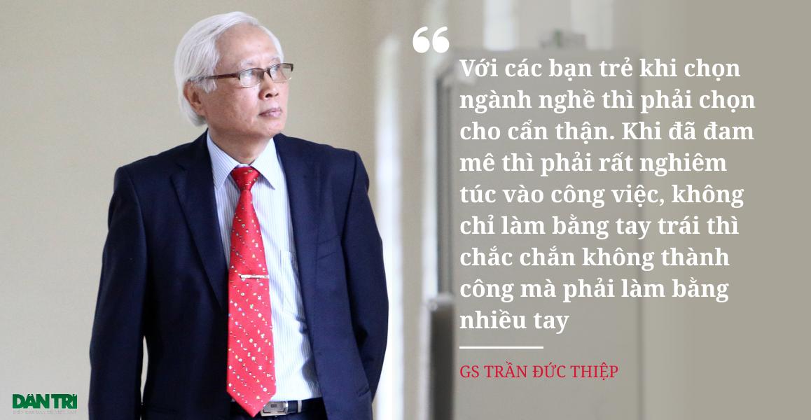 Giáo sư Trần Đức Thiệp - Nhà khoa học hàng đầu về vật lý hạt nhân - 5