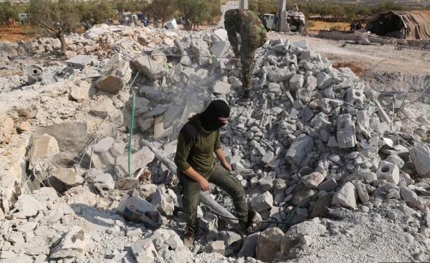 Hang ổ của thủ lĩnh IS bị san phẳng trong cuộc đột kích của Mỹ - 13