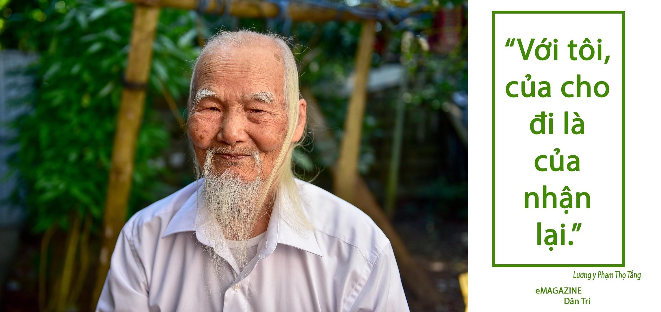 """Chuyện về """"ông Tiên"""" 97 tuổi có một không hai dưới chân núi Tản - 7"""