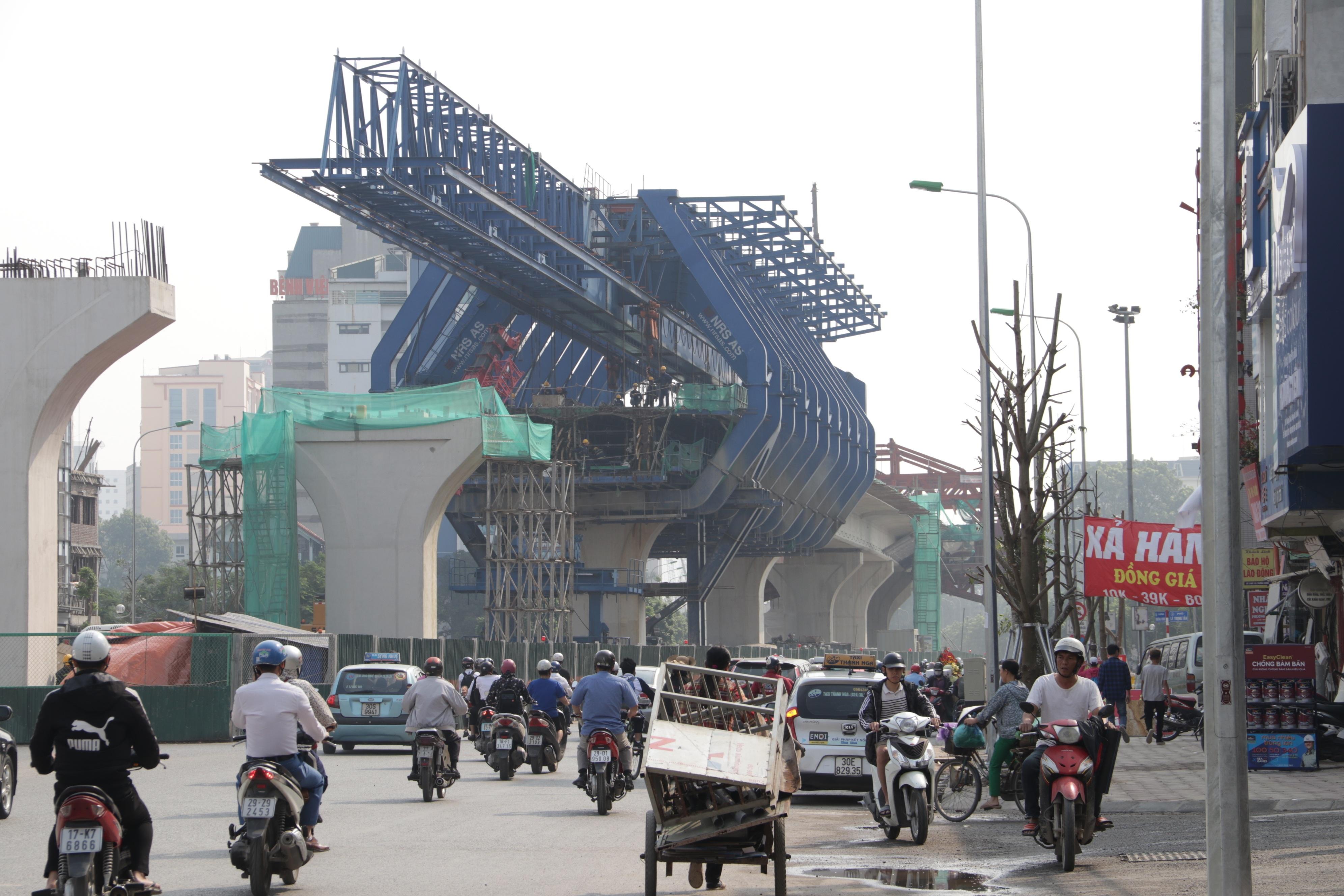 Hà Nội: Toàn cảnh tuyến đường 9.400 tỷ sau hơn một năm thi công - 12