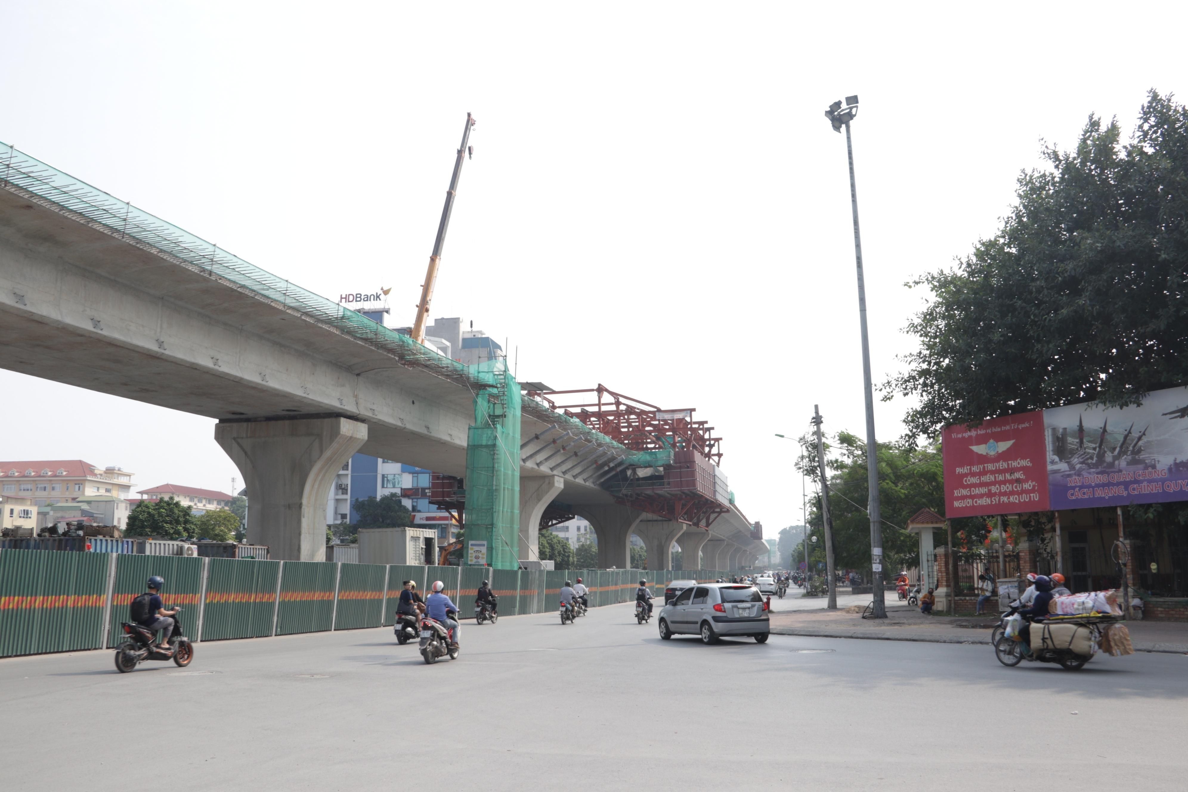 Hà Nội: Toàn cảnh tuyến đường 9.400 tỷ sau hơn một năm thi công - 17