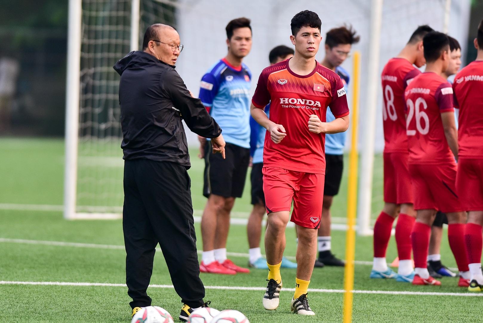 Đình Trọng báo tin vui cho thầy Park, chính thức tập luyện cùng U22 Việt Nam - 2