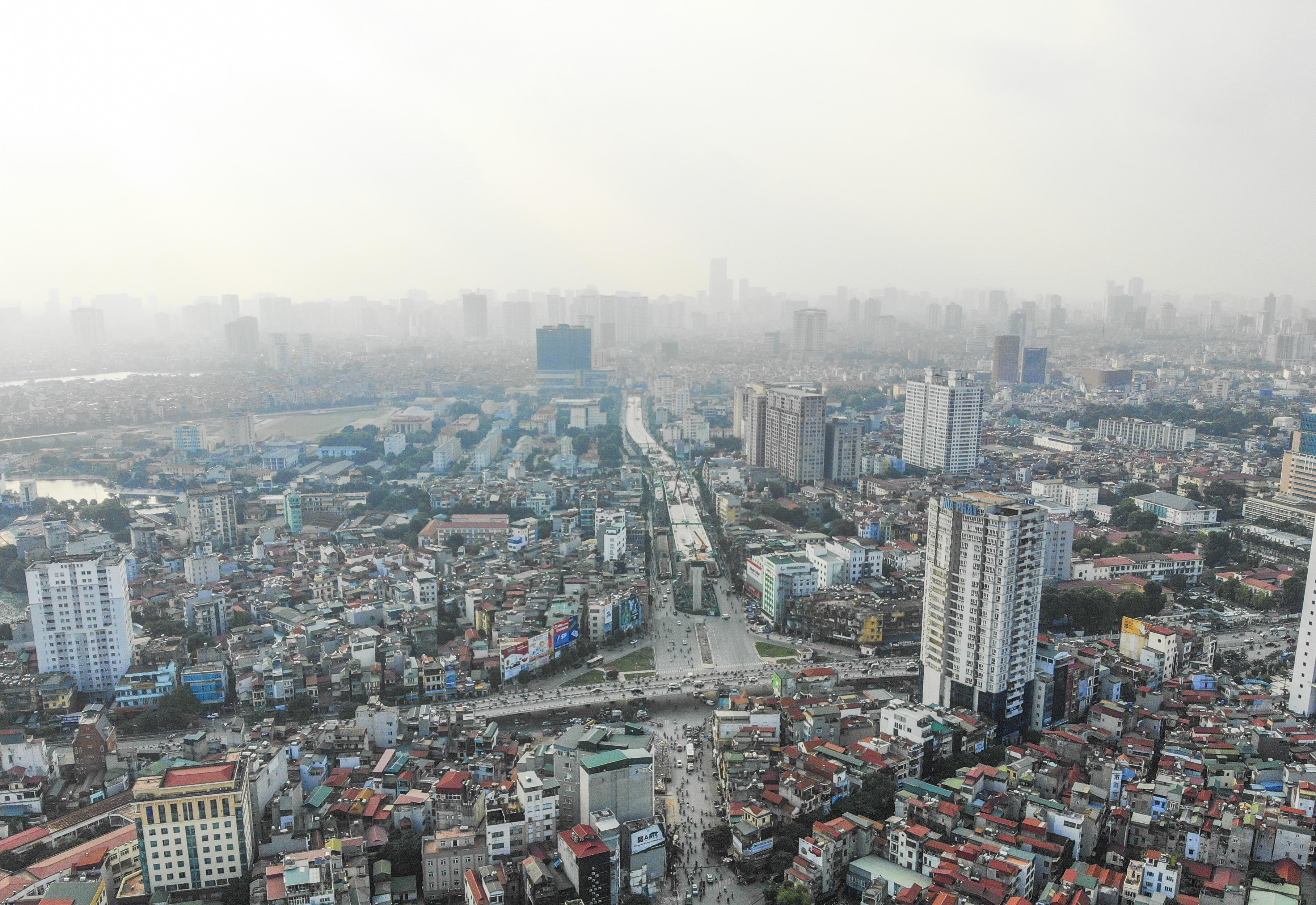 Hà Nội: Toàn cảnh tuyến đường 9.400 tỷ sau hơn một năm thi công - 1
