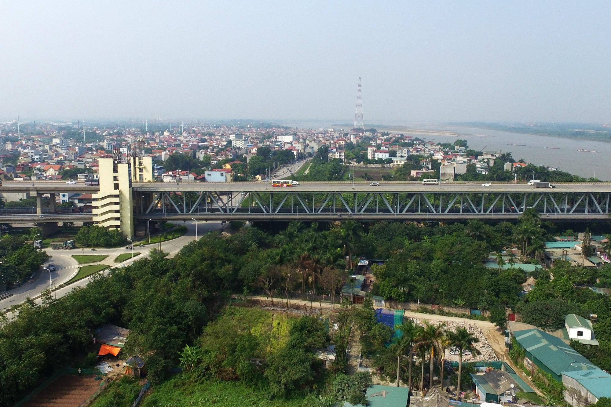 Toàn cảnh 6 cây cầu huyết mạch bắc qua sông Hồng - 11