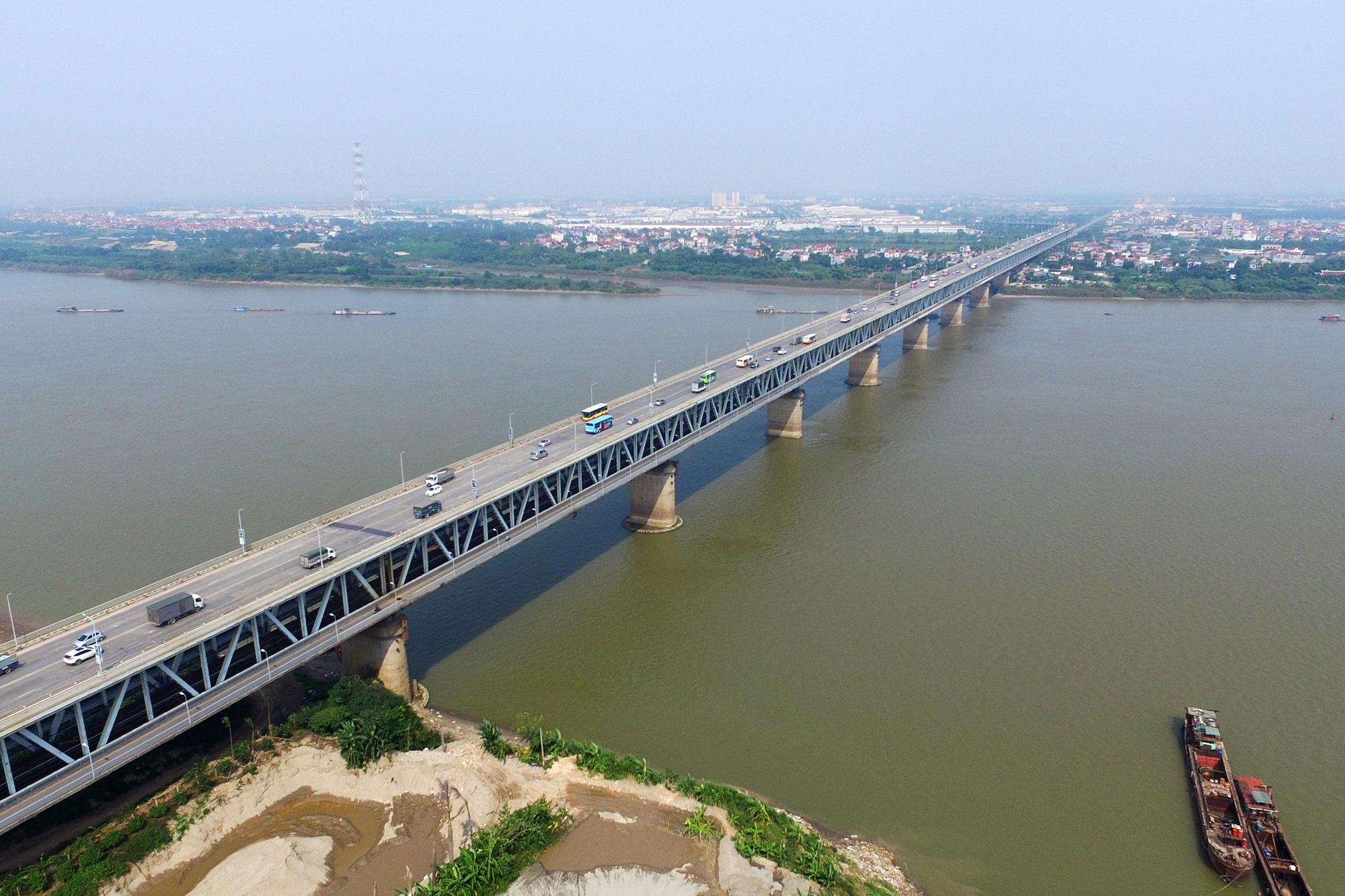 Toàn cảnh 6 cây cầu huyết mạch bắc qua sông Hồng - 10
