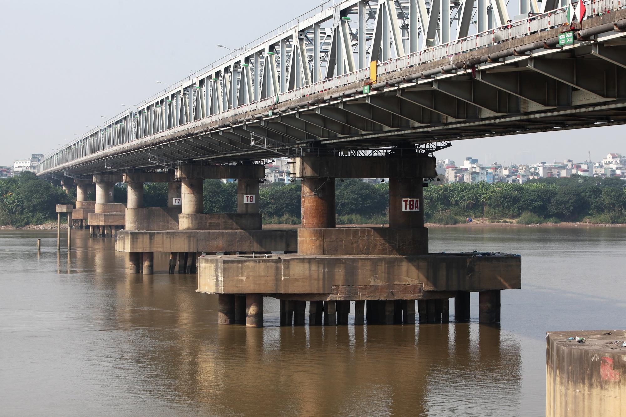 Toàn cảnh 6 cây cầu huyết mạch bắc qua sông Hồng - 7