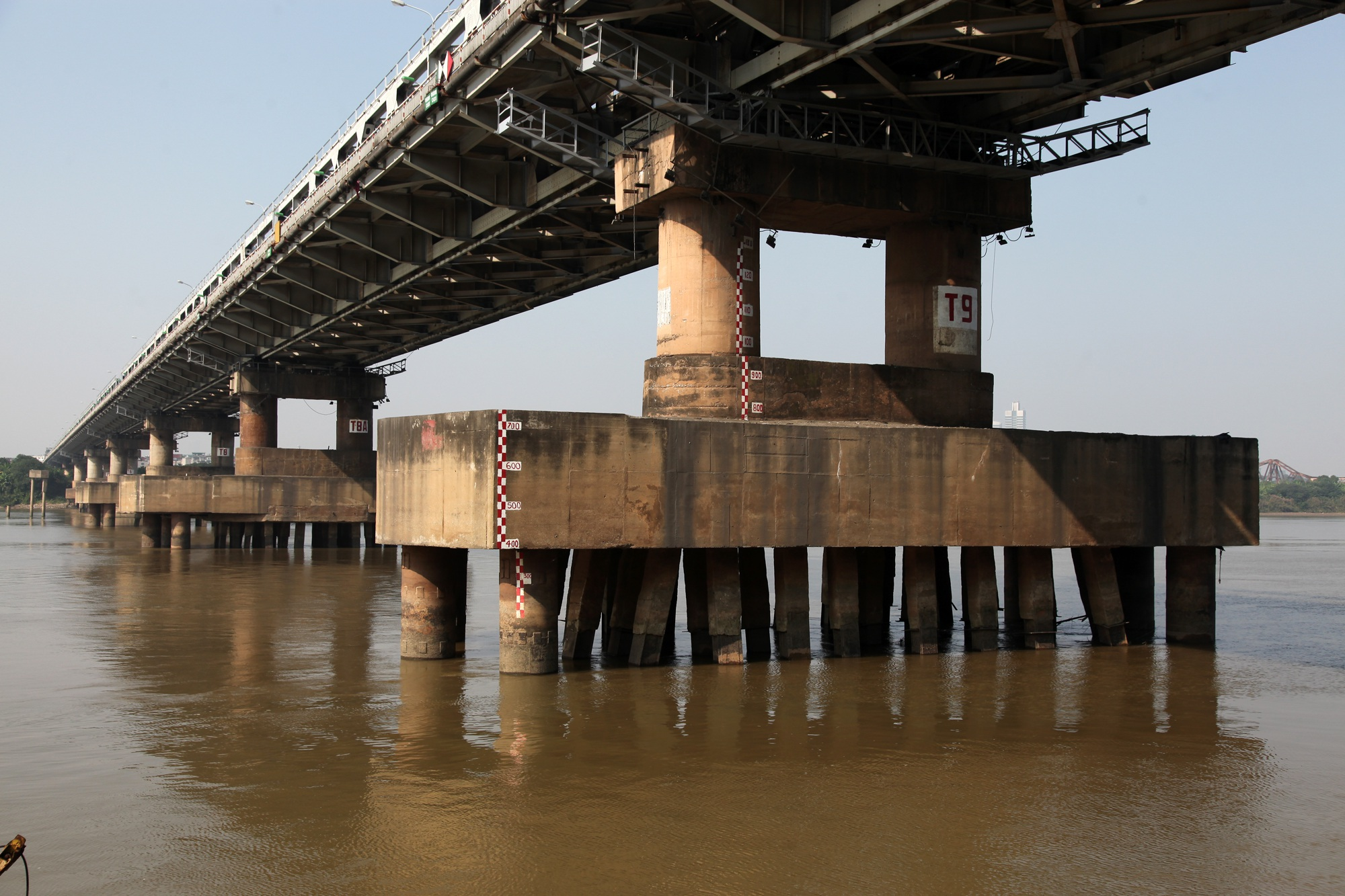 Toàn cảnh 6 cây cầu huyết mạch bắc qua sông Hồng - 8