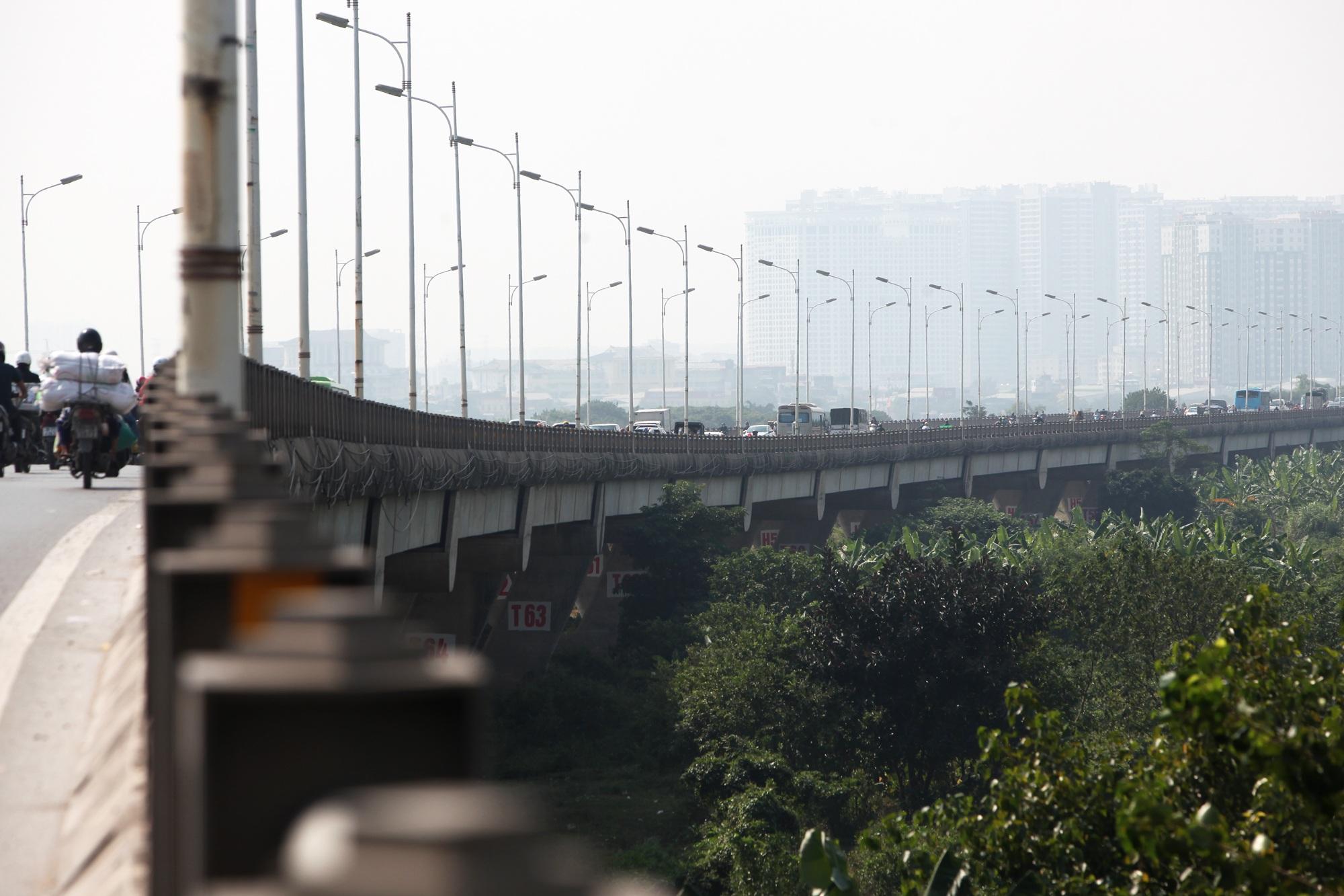 Toàn cảnh 6 cây cầu huyết mạch bắc qua sông Hồng - 16