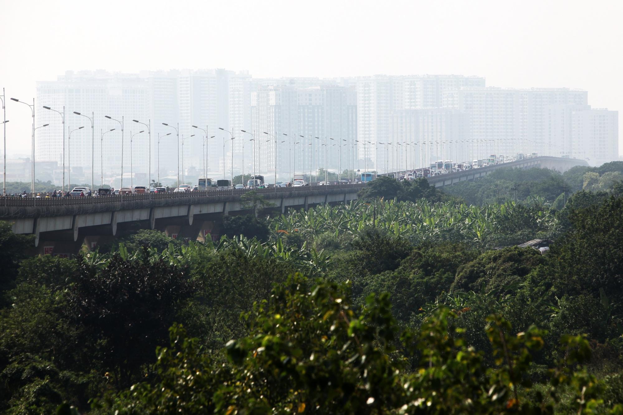 Toàn cảnh 6 cây cầu huyết mạch bắc qua sông Hồng - 17
