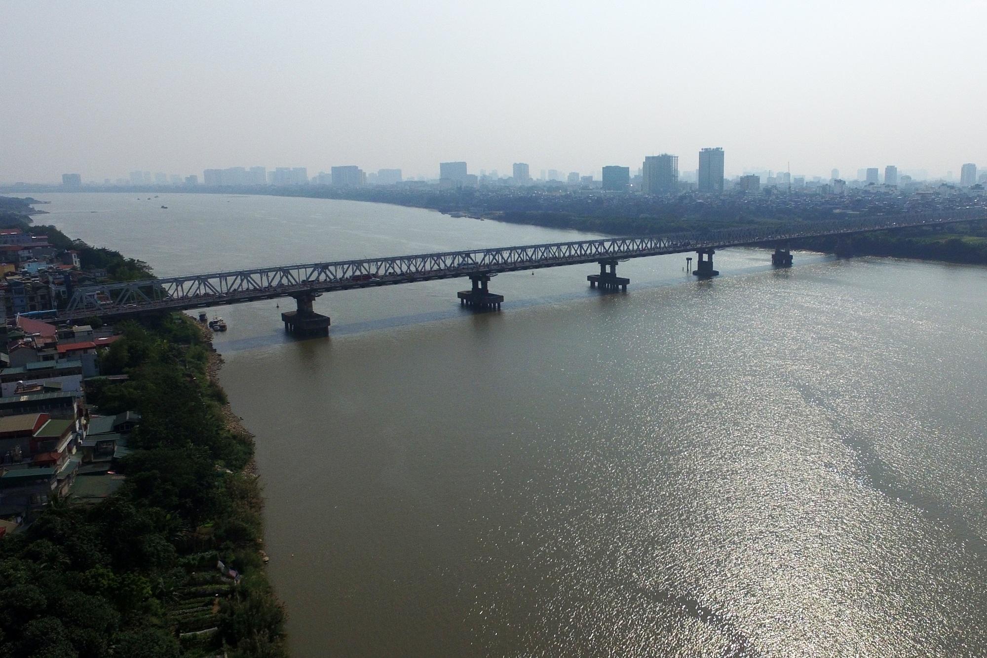 Toàn cảnh 6 cây cầu huyết mạch bắc qua sông Hồng - 6