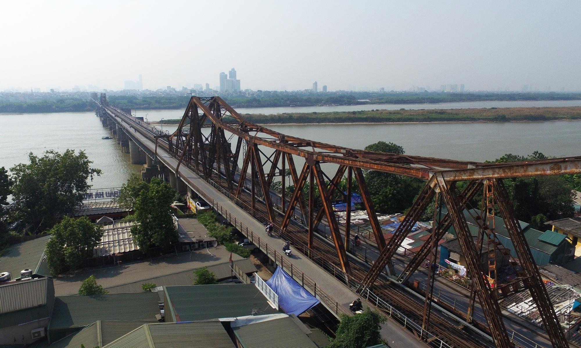Toàn cảnh 6 cây cầu huyết mạch bắc qua sông Hồng - 1