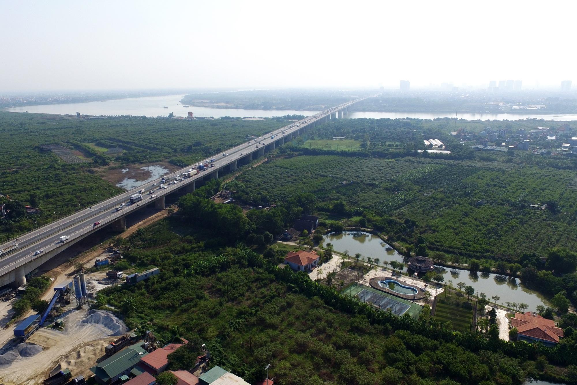 Toàn cảnh 6 cây cầu huyết mạch bắc qua sông Hồng - 12