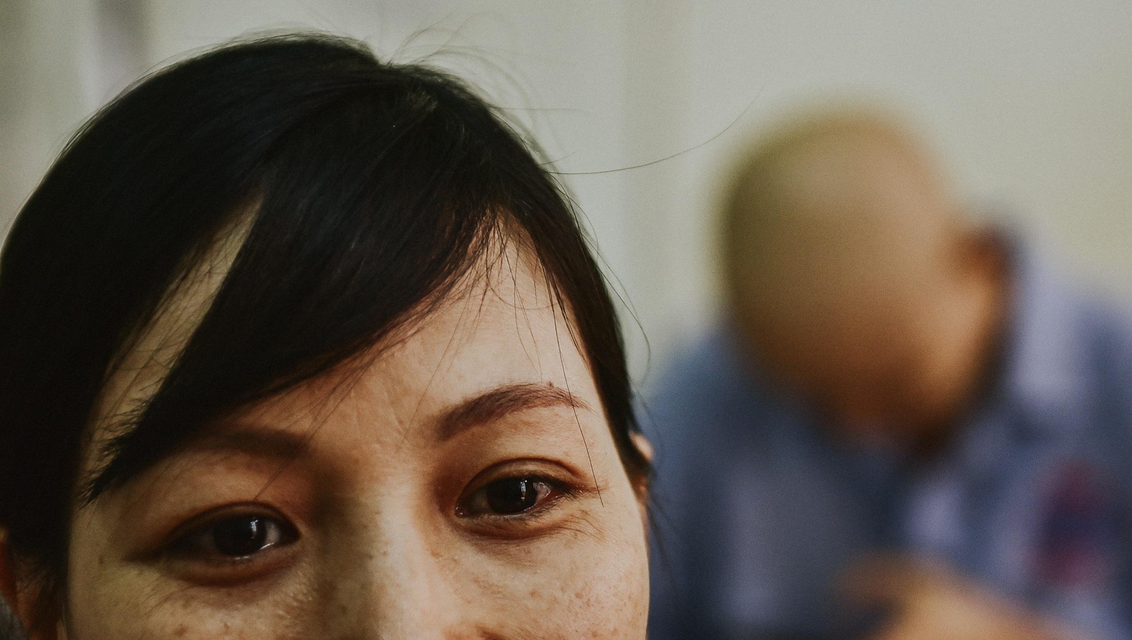 Nữ sinh vượt bạo bệnh đi thi Hoa khôi Ngoại thương:  Tôi đẹp nhất khi tôi tự tin, kể cả khi đầu trọc! - 3