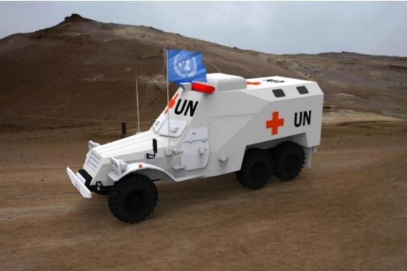 Độc đáo với giải pháp tiết kiệm hàng triệu USD từ việc cải hoán xe thiết giáp bánh lốp BTR-152 - 5