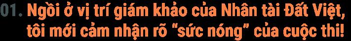 """Người Việt trẻ xuất sắc ở Châu Á kể chuyện ngồi ghế """"nóng"""" Nhân tài Đất Việt 2019 - 1"""