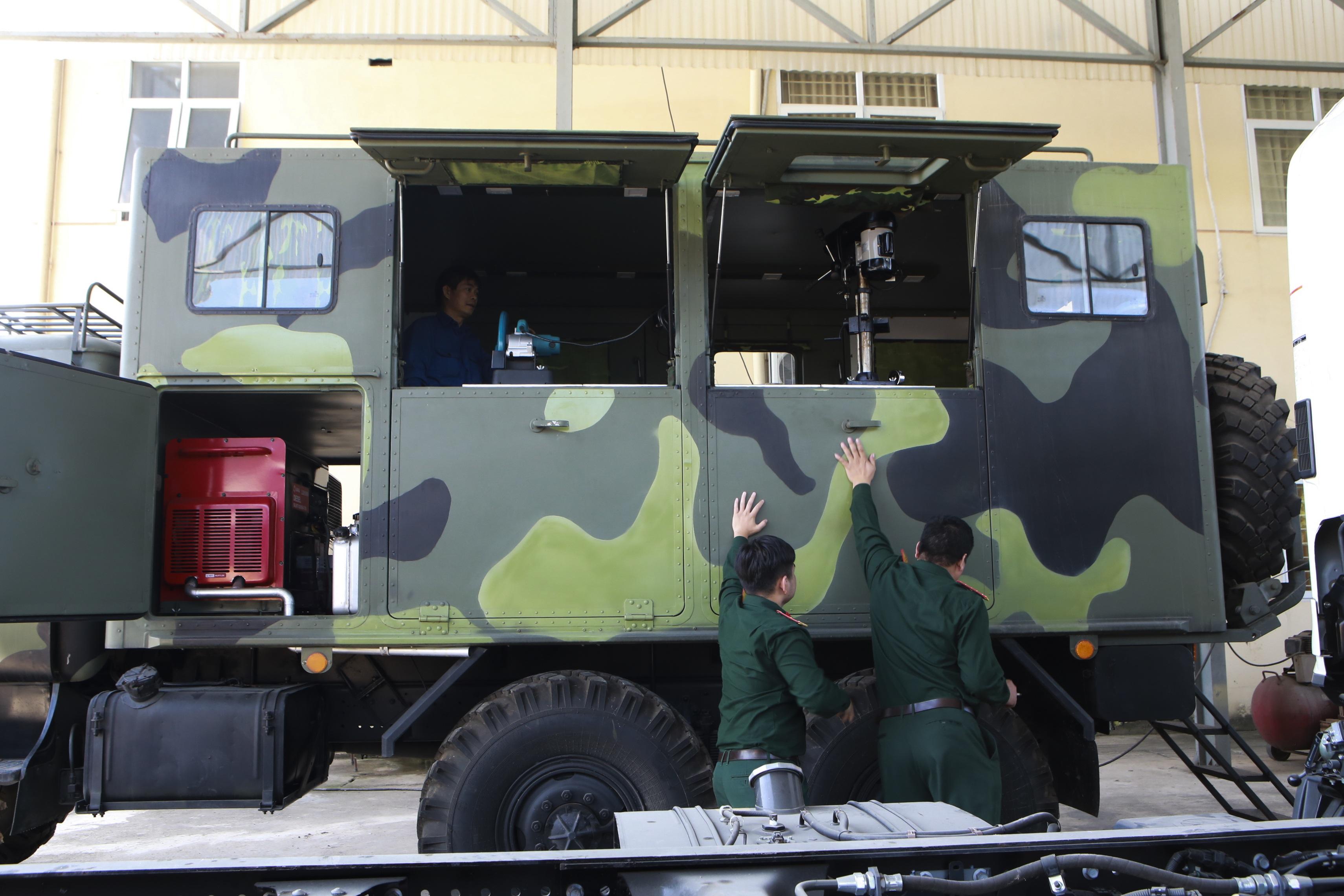 Khám phá xe công trình sửa chữa cơ khí tổng hợp của Quân đội Nhân dân Việt Nam - 2