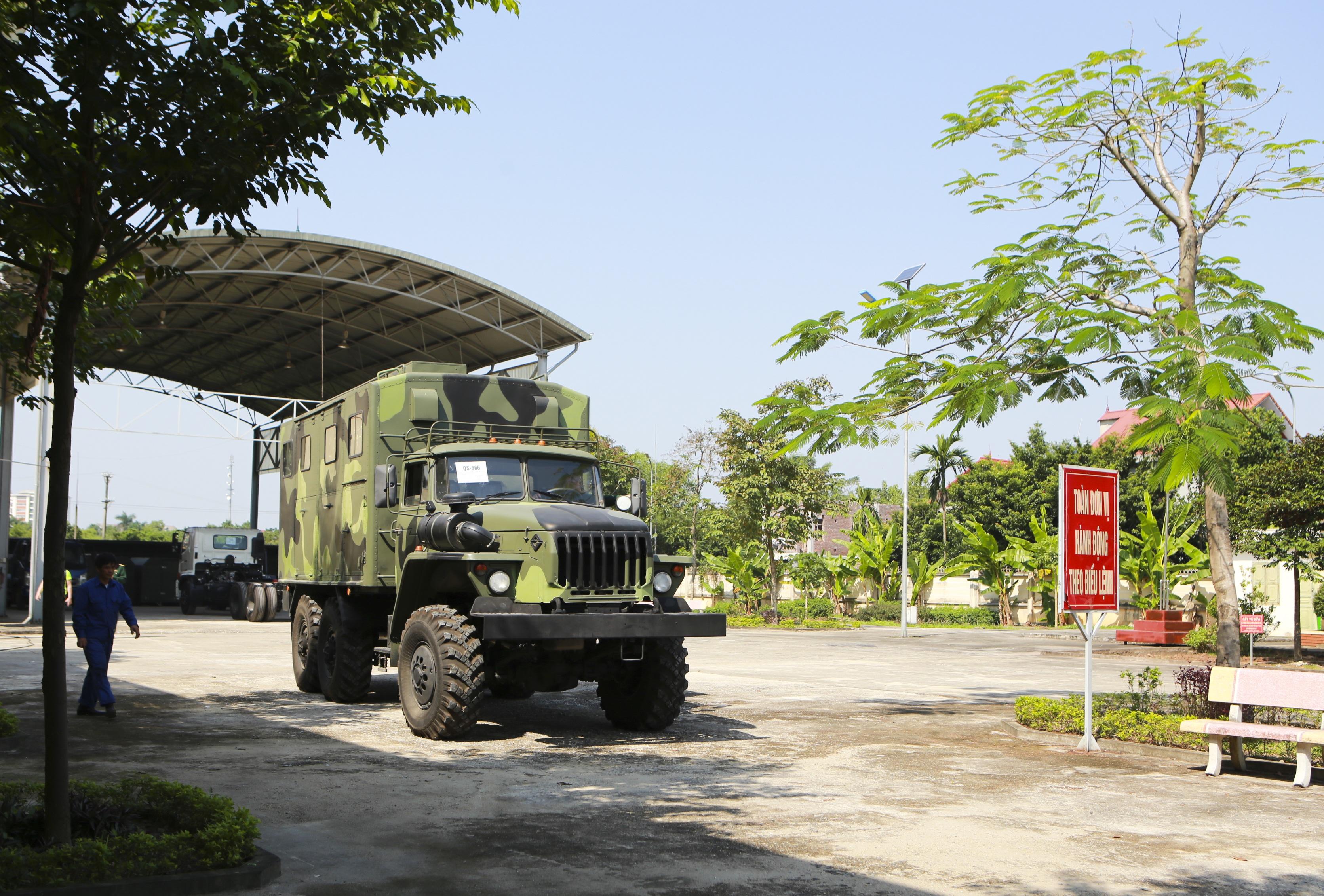 Khám phá xe công trình sửa chữa cơ khí tổng hợp của Quân đội Nhân dân Việt Nam - 13