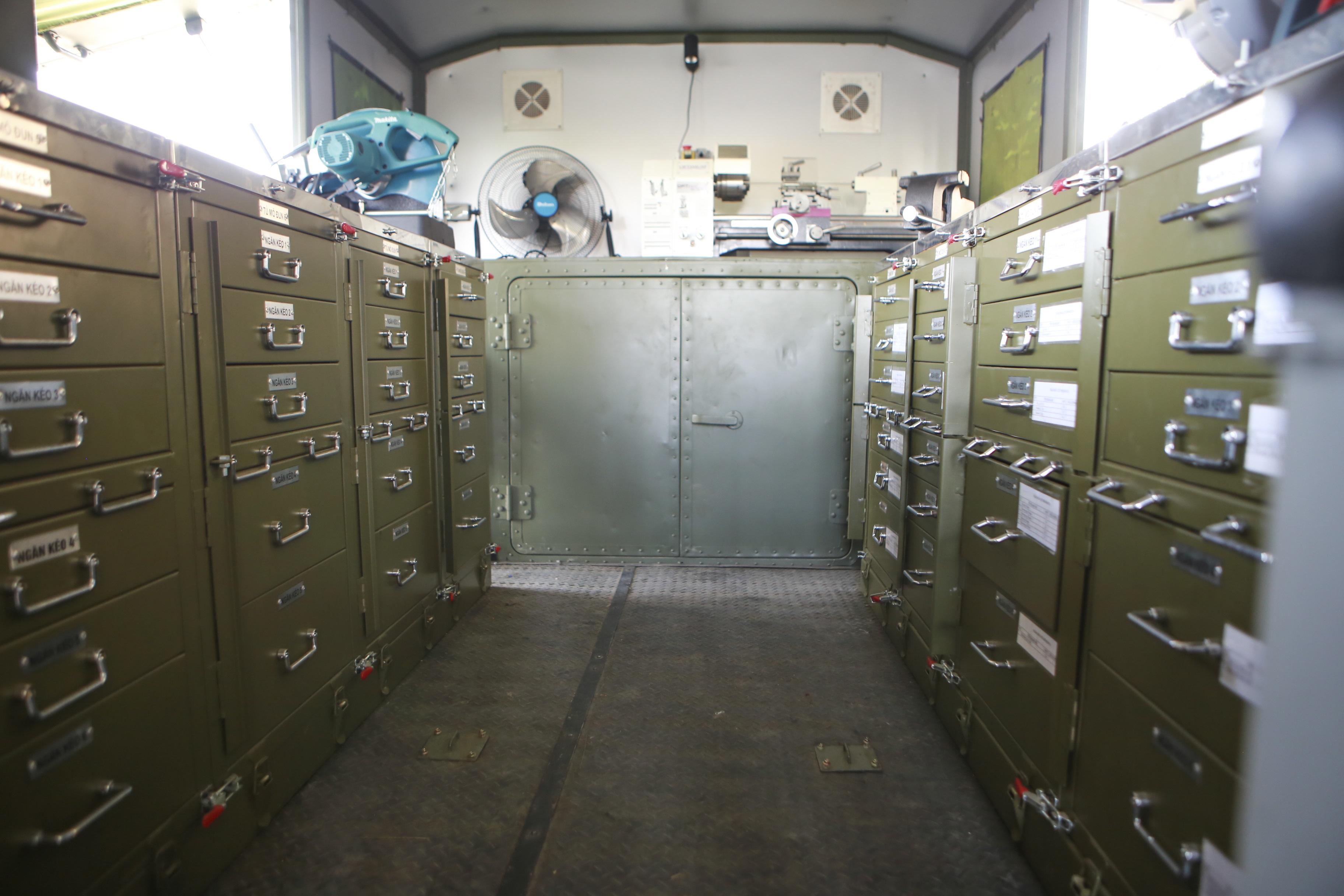 Khám phá xe công trình sửa chữa cơ khí tổng hợp của Quân đội Nhân dân Việt Nam - 3