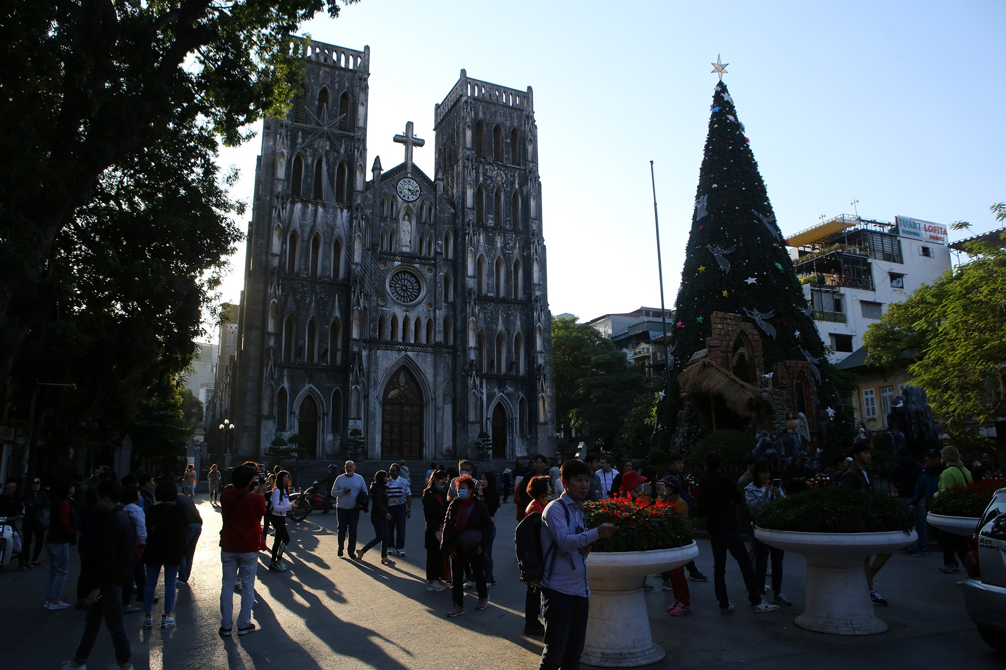 Các nhà thờ ở Hà Nội trang hoàng đón Noel 2019 - 1