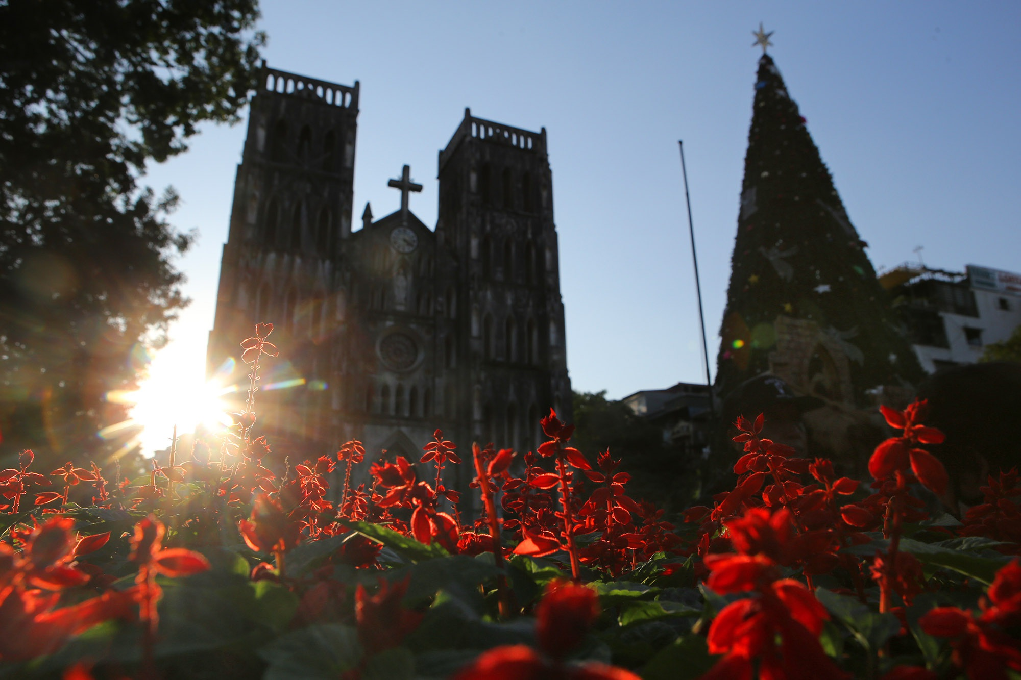 Các nhà thờ ở Hà Nội trang hoàng đón Noel 2019 - 5