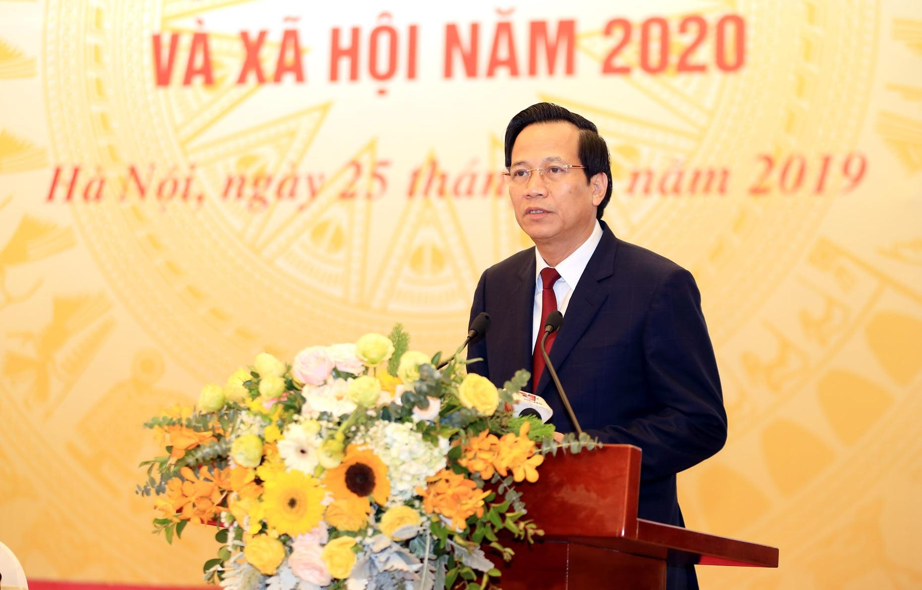 Bộ trưởng Đào Ngọc Dung: Cả nước tạo việc làm cho hơn 1,6 triệu lao động - 1