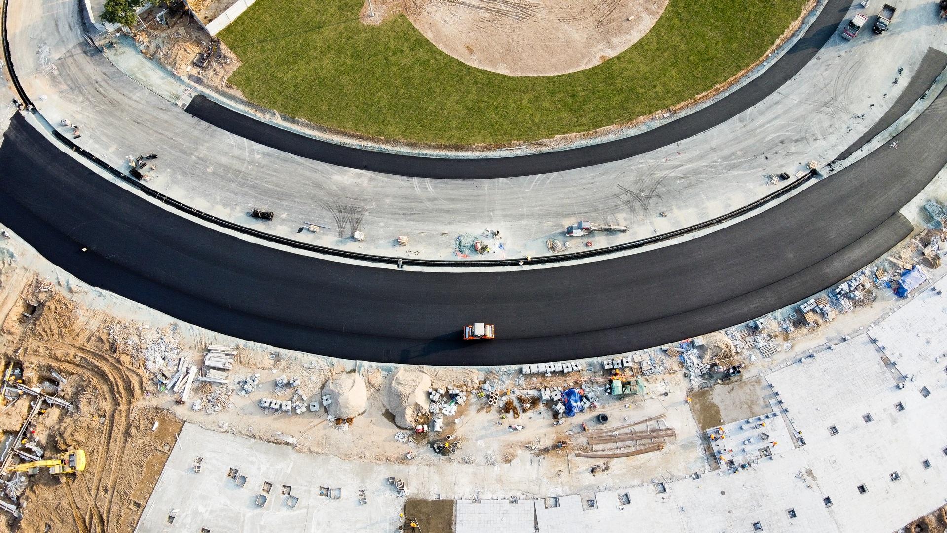 Hà Nội: Được trải thảm nhựa, đường đua F1 dần hiện hình - 1