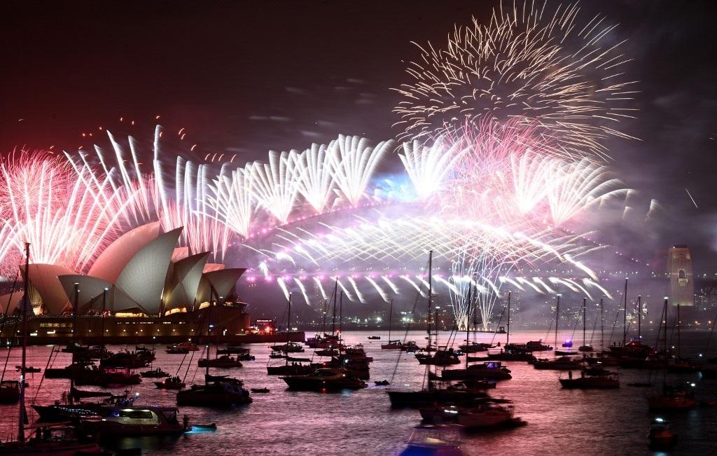 Pháo hoa tưng bừng khắp thế giới đón năm mới 2020 - 11