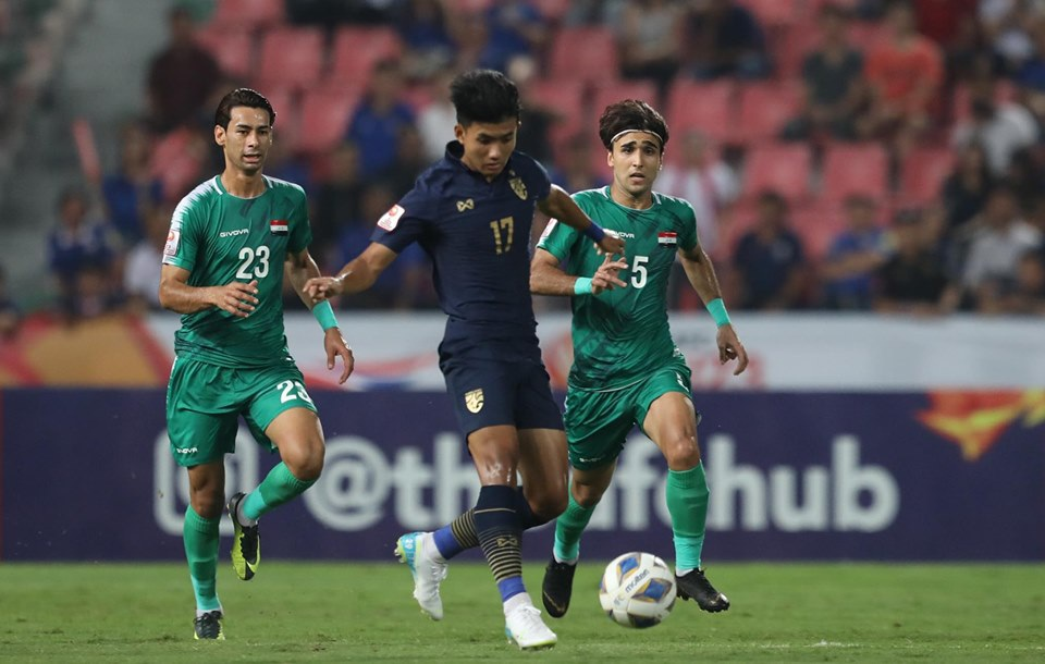 Xem lại U23 Thái Lan vs U23 Iraq highlights & video full match