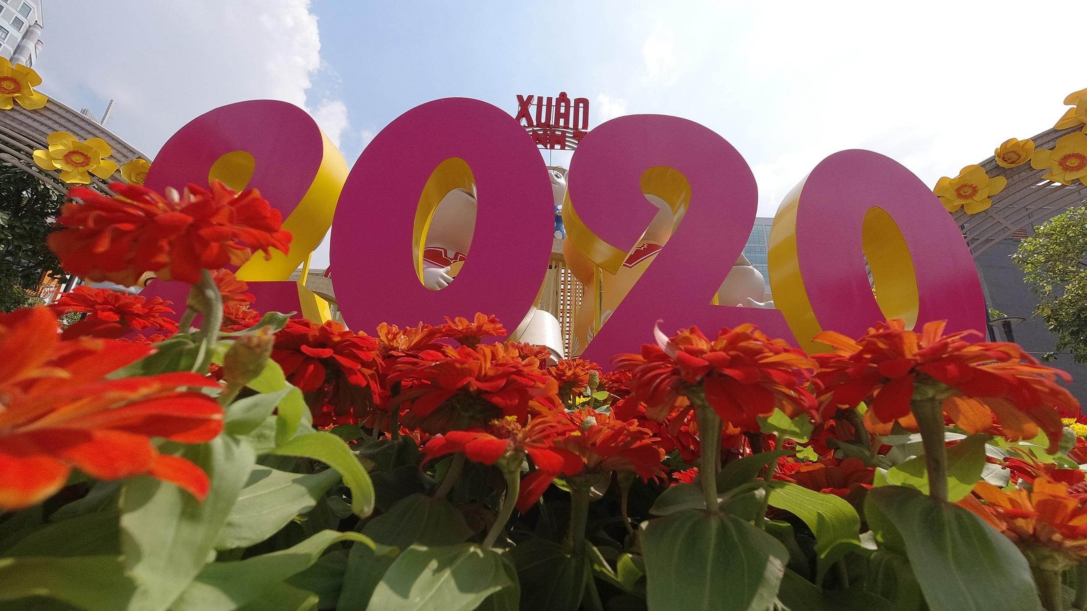 Mãn nhãn ngắm đường hoa Nguyễn Huệ trước giờ G - 14