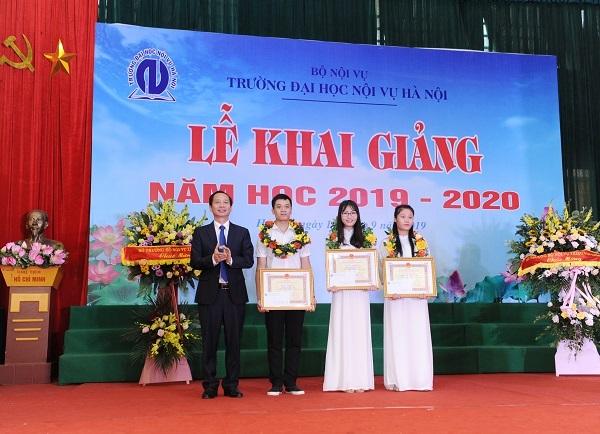 Trường Đại học Nội vụ Hà Nội thông báo tuyển sinh năm 2020