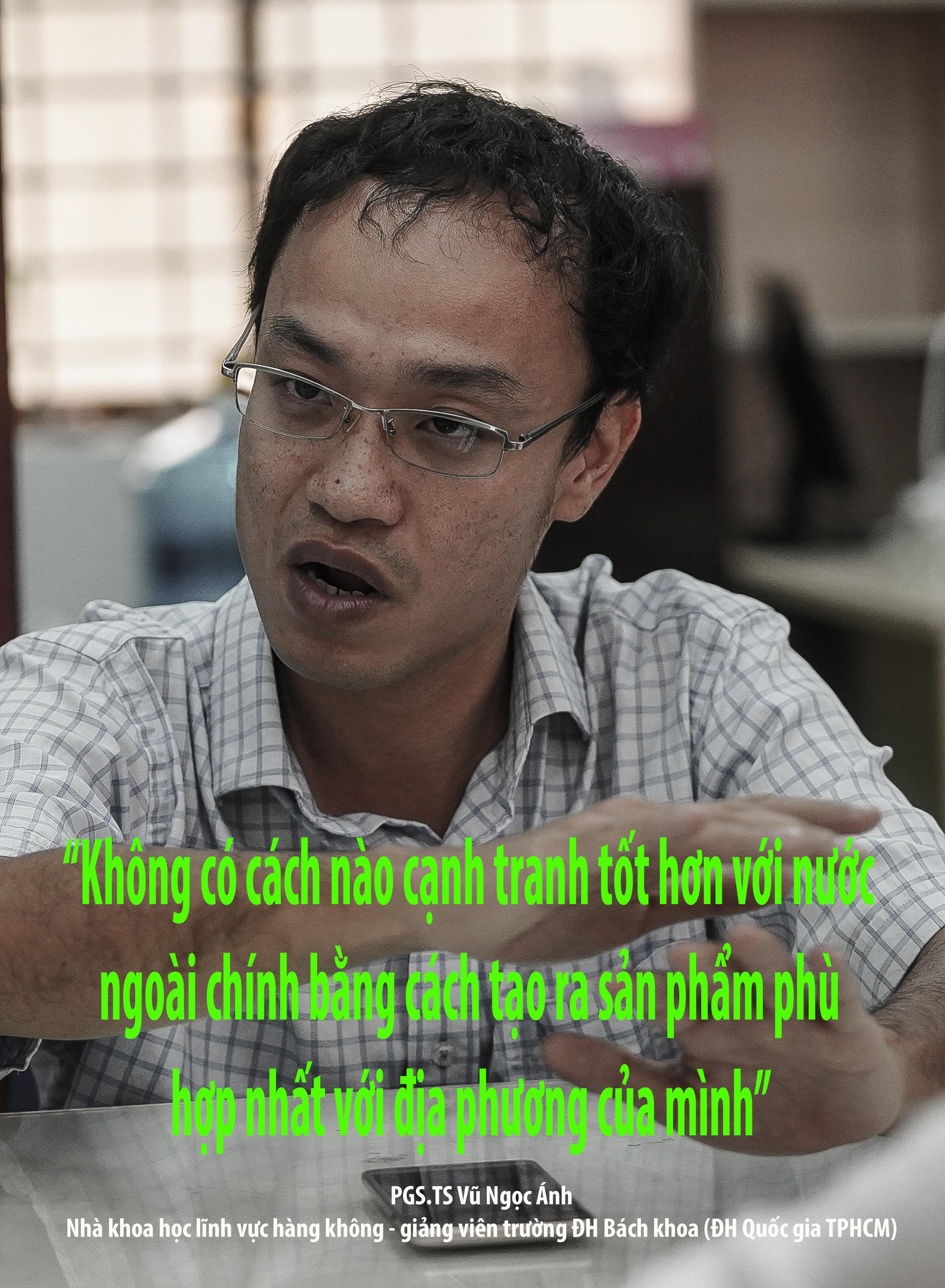 Phó giáo sư 37 tuổi chế tạo máy bay dành cho nhà nông - 30