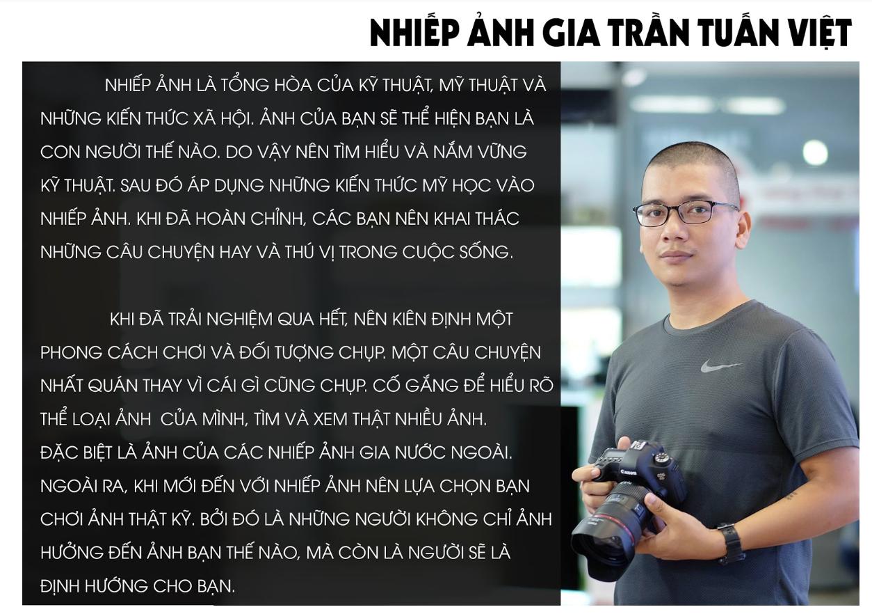 Nhiếp ảnh gia Trần Tuấn Việt: Người mang sứ mệnh đưa hình ảnh Việt Nam đến với thế giới - 14