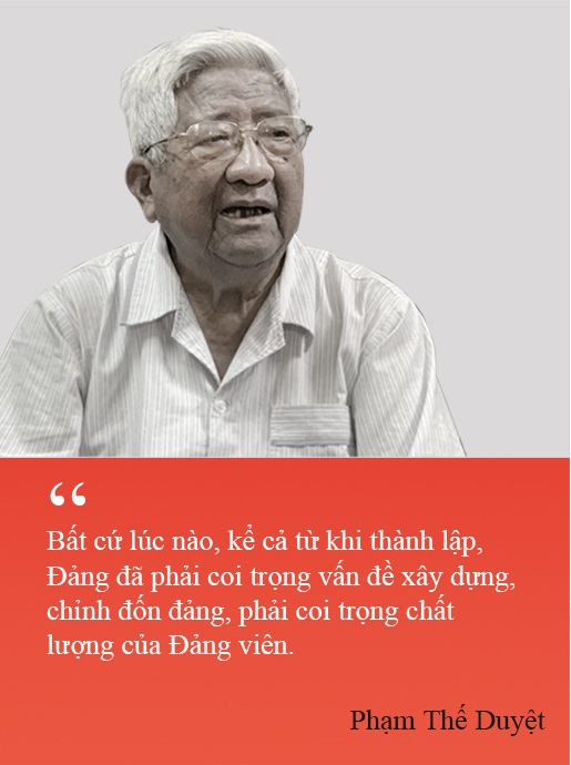 Ông Phạm Thế Duyệt: Bộ Chính trị có mạnh, Trung ương mới vững - 2