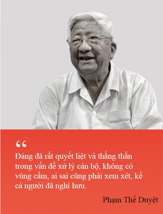 Ông Phạm Thế Duyệt: Bộ Chính trị có mạnh, Trung ương mới vững - 3