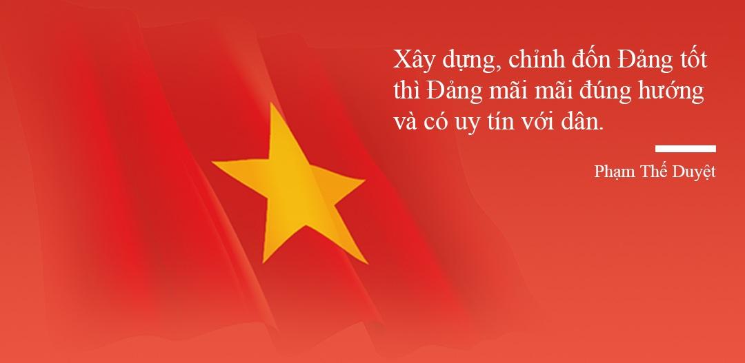 Ông Phạm Thế Duyệt: Bộ Chính trị có mạnh, Trung ương mới vững - 7
